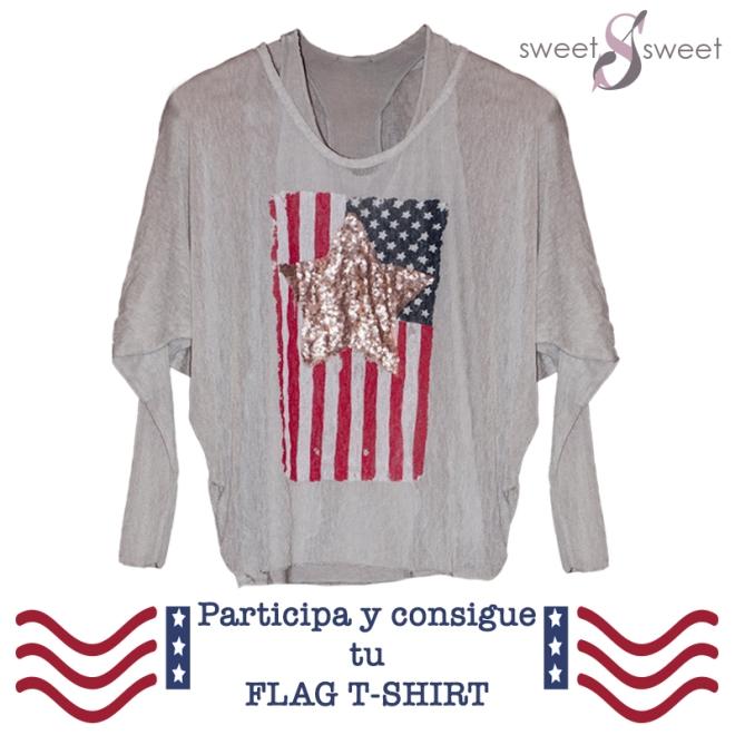 flag t-shirt concurso