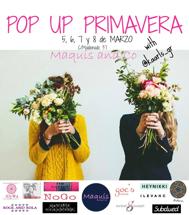 Sweet Sweet en pop up primavera de Maquis&co